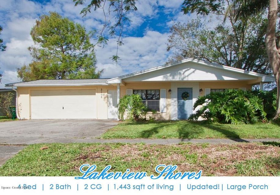 2108 Lakeview Drive, Melbourne, FL 32935