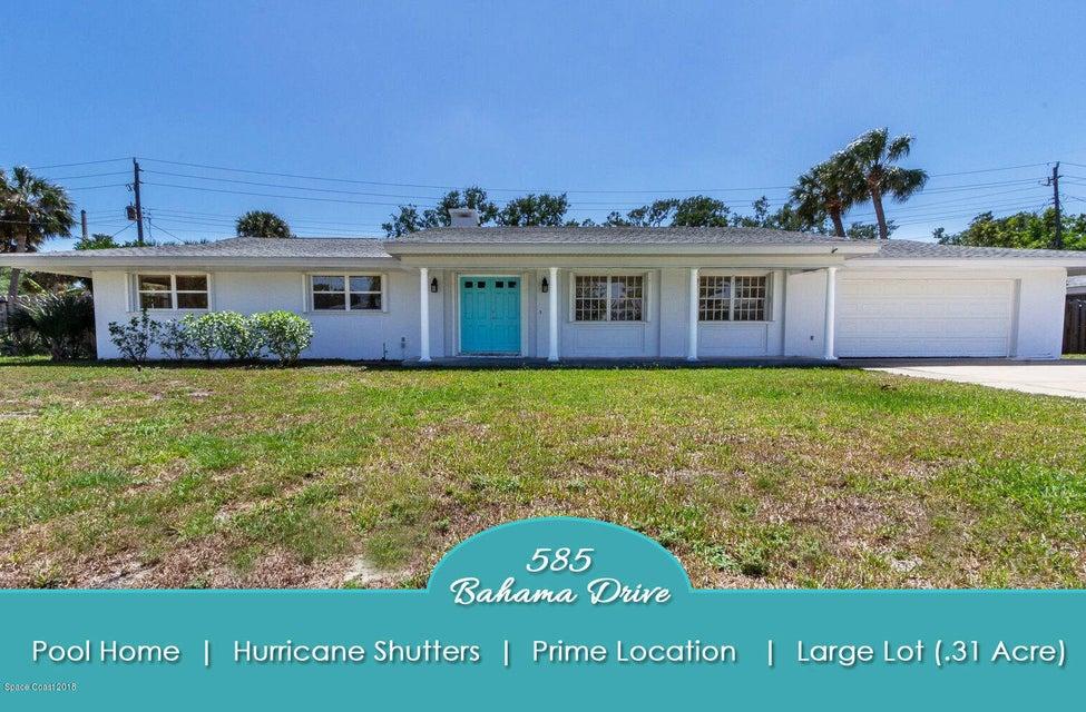 585 Bahama Drive, Indialantic, FL 32903