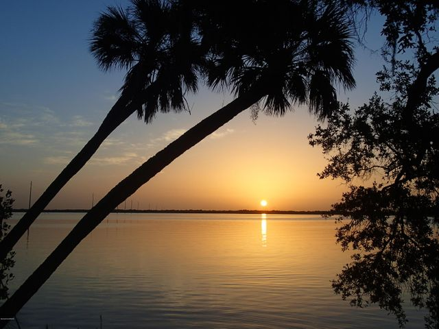 Breathtaking sunrises over the Indian River from your private waterfront.