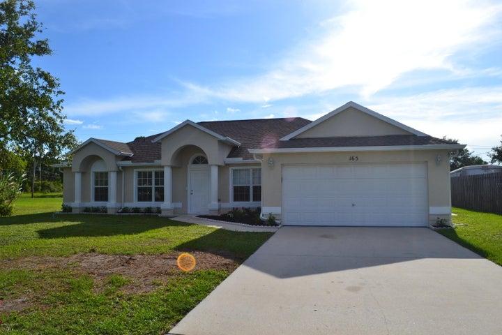 165 Spring Valley Avenue, Sebastian, FL 32958