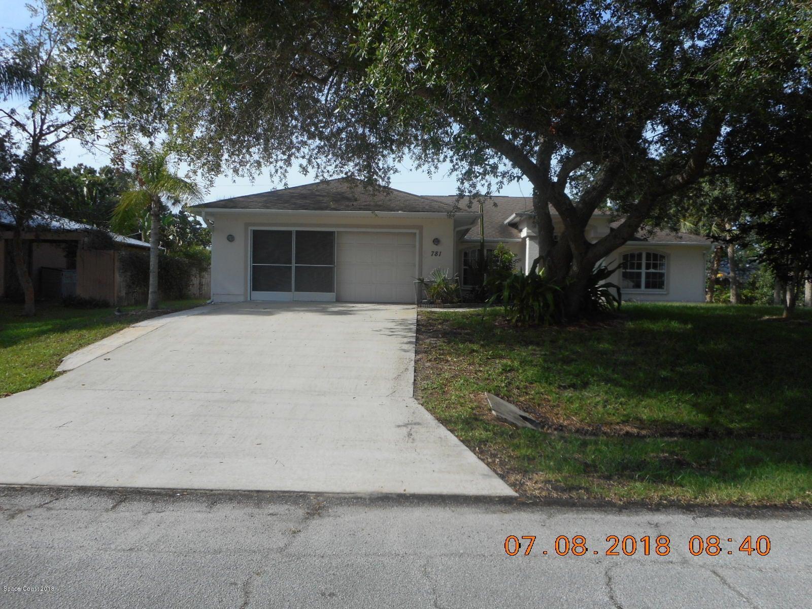 781 Jordan Avenue, Sebastian, FL 32958
