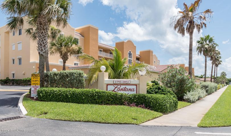 Beautiful Lantana Condominiums in Indian Harbour Beach