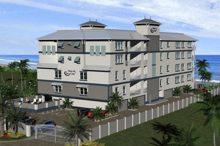 Brand New Condos to be constructed on the Ocean front in Cocoa Beach just 1/2 mile North of the Pier