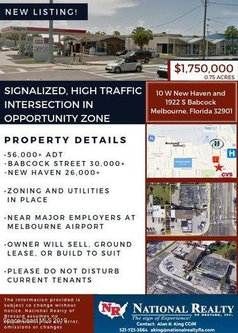 10 W New Haven Avenue, Melbourne, FL 32901