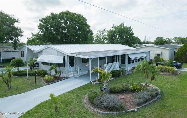 600 Tarpon Drive, Barefoot Bay, FL 32976