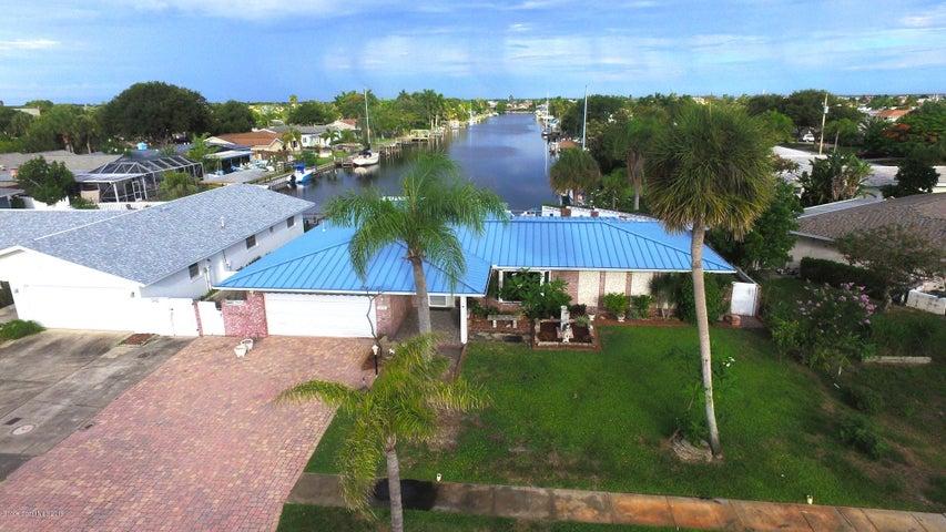 516 Jolly Roger Drive, Satellite Beach, FL 32937