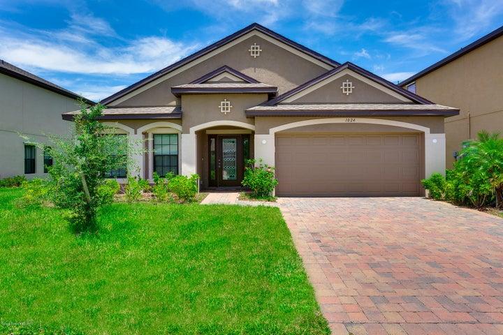 1024 Musgrass Circle, West Melbourne, FL 32904