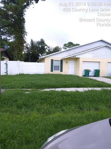 405 Country Lane, Cocoa, FL 32926