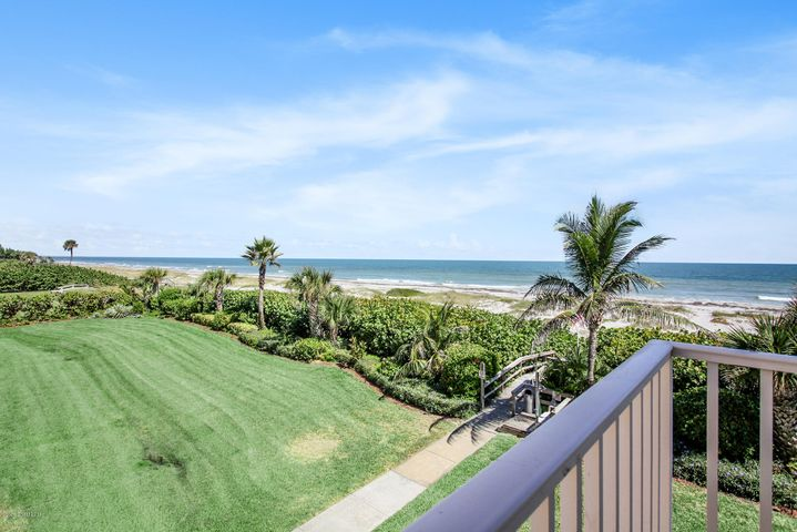Spacious NE corner! Wraparound balcony for endless ocean views North & South!