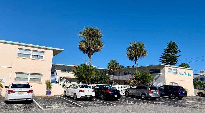 Exterior of Brisa Del Mar Condominium complex
