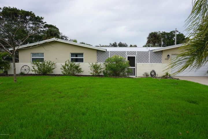 222 Timpoochee Drive, Indian Harbour Beach, FL 32937