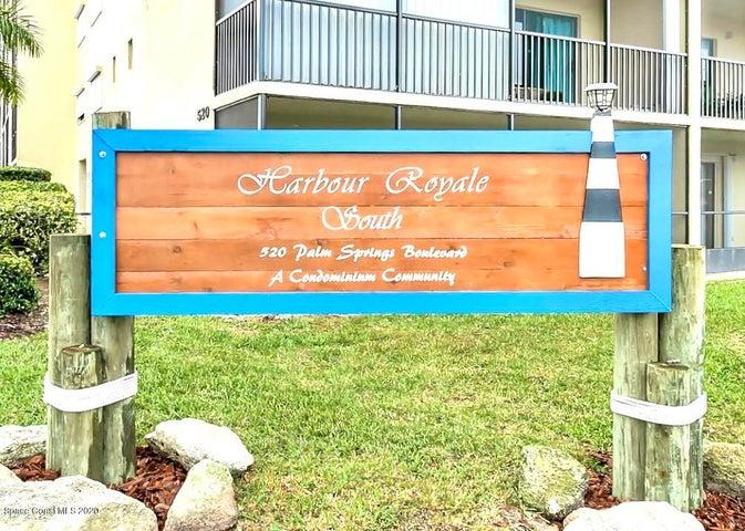 520 Palm Springs Boulevard, 611, Indian Harbour Beach, FL 32937
