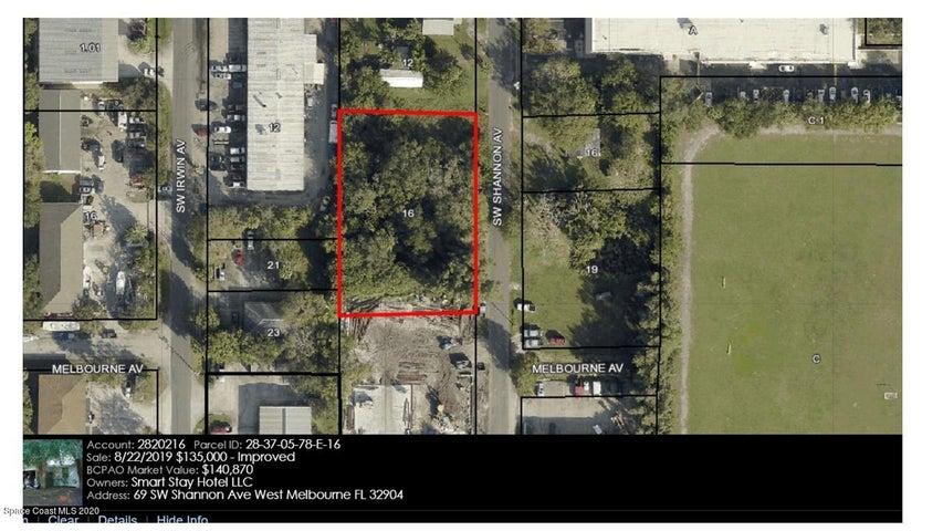 69 SW Shannon Avenue SW, West Melbourne, FL 32904