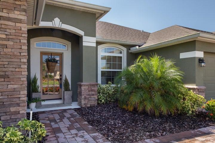 Upgrades include Front door and gutters around home.