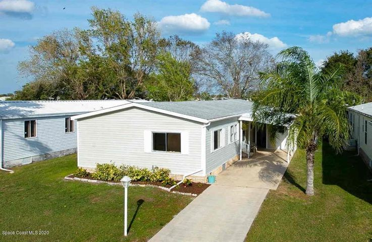 1242 Waterway Drive, Barefoot Bay, FL 32976