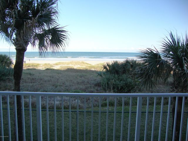 View of Ocean from Balcony in Condo