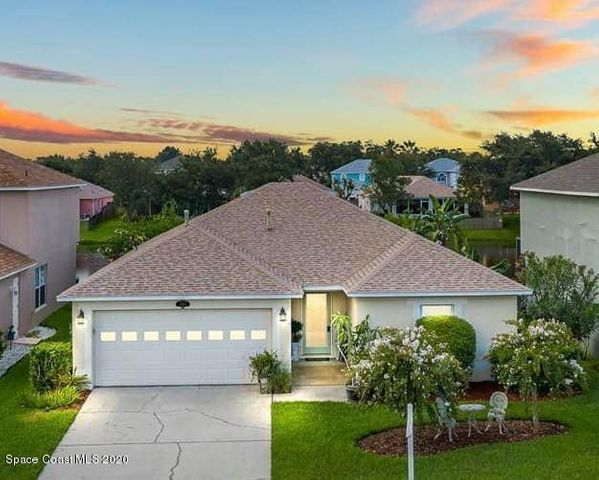 Gated community with pool & park amenities.