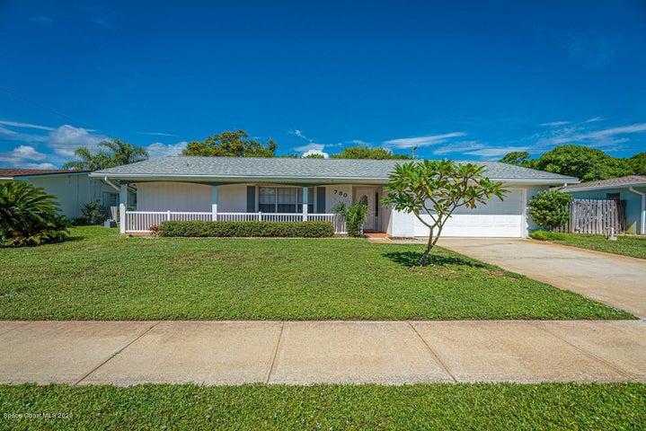 780 S Robin Way, Satellite Beach, FL 32937