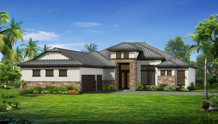 Rendering of Traditional Elevation