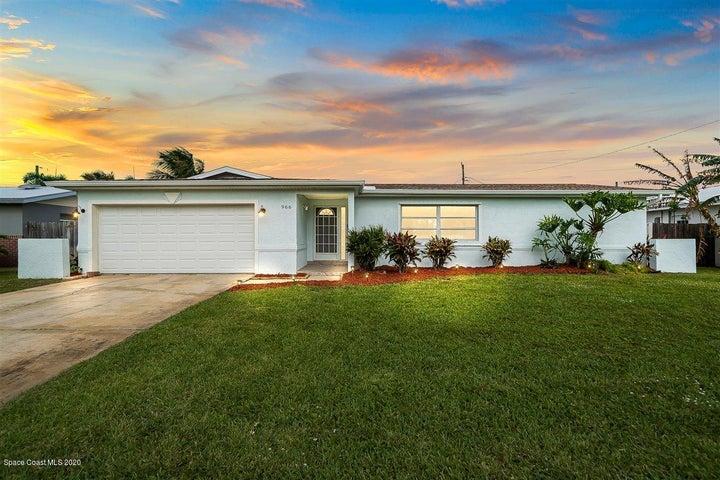 966 Golden Beach Boulevard, Indian Harbour Beach, FL 32937