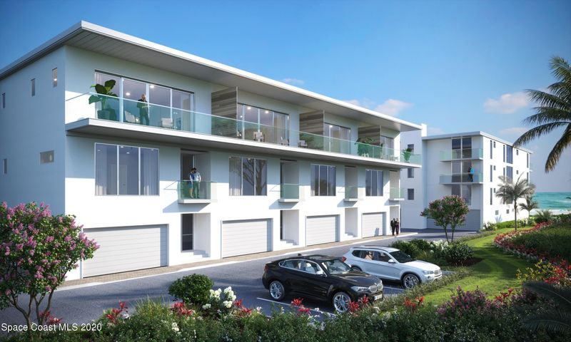 Announcing the NEW Oceanview Villas at Miramar. 3 Story Private Villas with Private Elevator and Views of the Ocean over the adjacent Beach Park. Private home feel with the ease of condo lifestyle: all exterior maintenance is covered by the HOA! Some illustrations show upgrades.