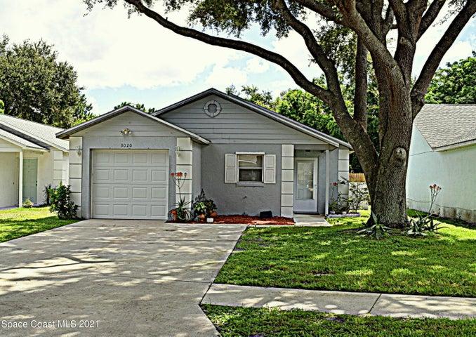 3020 Winchester Drive, Cocoa, FL 32926