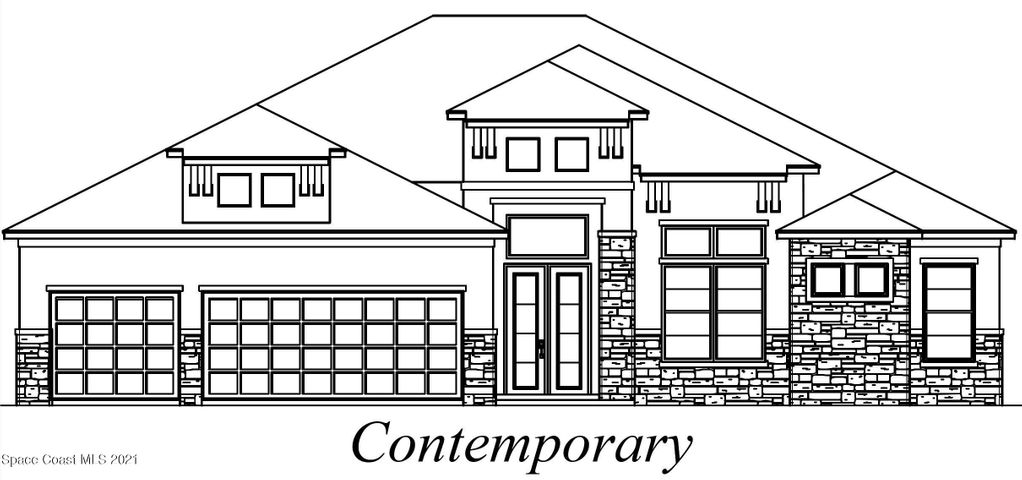 Contemporary elevation