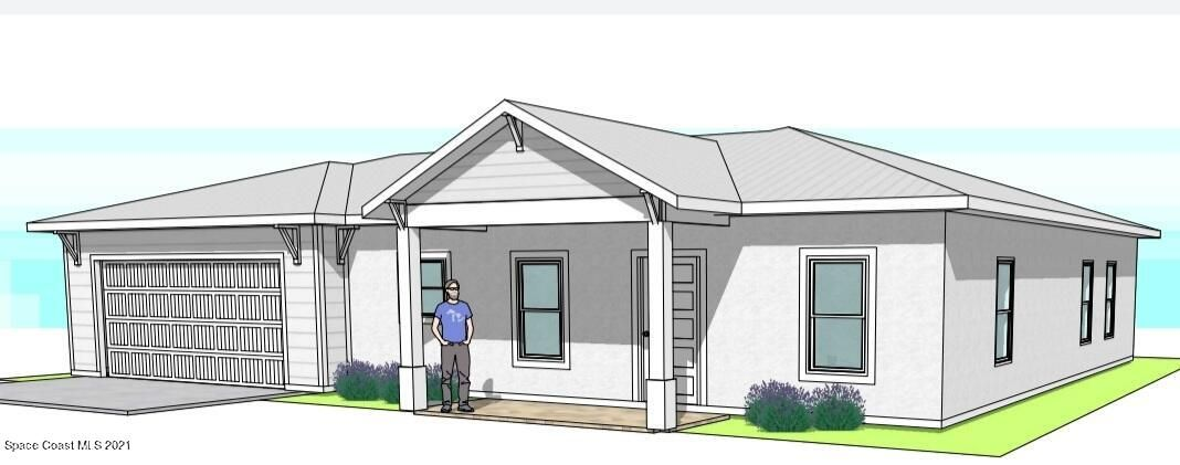 Front Elevation Conceptual Rendering