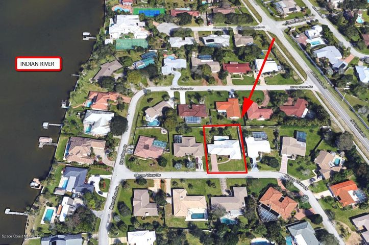 1956 Shore View Drive, Indialantic, FL 32903