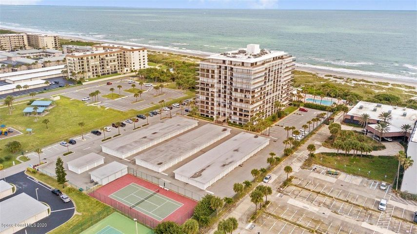 Looking for INCREDIBLE OCEAN VIEWS? You have found it! Unobstructed views in all rooms! The 2100 building is one of the most desired condo buildings in Cocoa Beach. This is your opportunity to own a piece of paradise and make it your own. Master bath remodel has already begun! Hard part is done FOR YOU! Materials left there to finish, and put your own touch on the rest. Gorgeous pool, clubhouse, exercise room, and secured lobby make this a living vacation! Call today for private showing! Ocean breeze is waiting!