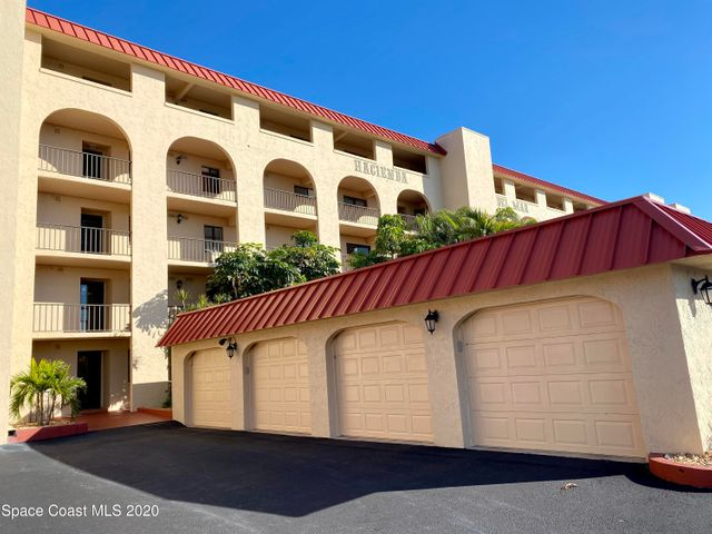 DIRECT OCEANFRONT condo in COCOA BEACH! Large master bedroom suite with office space and a walk-in closet. Master bath has a spacious walk-in shower with multiple shower heads and granite bench seat. BRAND NEW HVAC!!! Kitchen overlooks the living and dining area and has gorgeous QUARTZ countertops! Newly installed PLANTATION SHUTTERS are on the interior doors and windows. There is a half bath for guests as well as another room that can be used as an office, gym or guest room. The community pool and ocean are just steps from your back door!