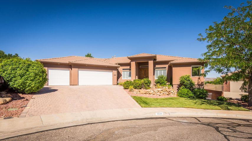 1538 Boulder Cove Circle, St George, UT 84790