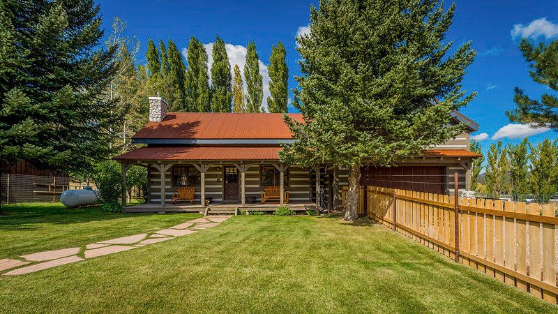 True Pioneer style home with all the ambiance of true craftmanship.