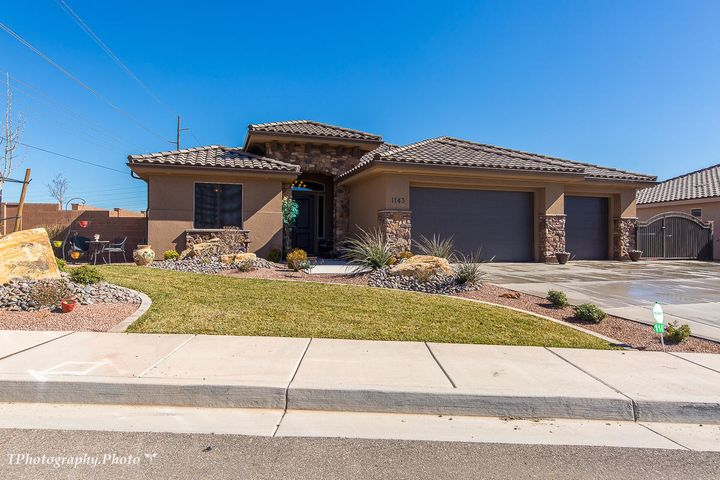 1143 S RIVERBEND DR, St George, UT 84790