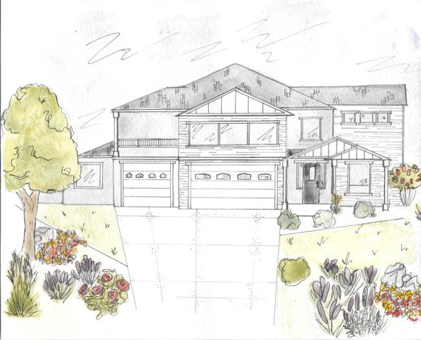 Color Rendering of Front Elevation