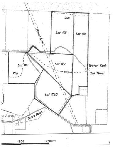 23 Acres Topaz Rd in Diamond Valley, St George UT 84770