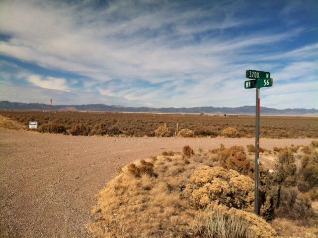 Corner of Hwy 56 & 3200 West