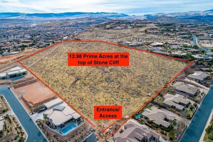 13+/- acres above Stone Cliff, St George UT 84770