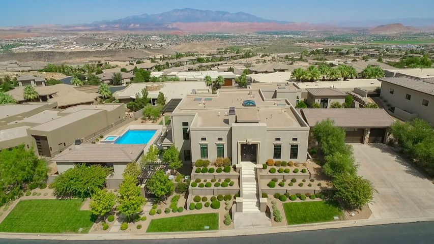 Estate size home on 0.61 acres.