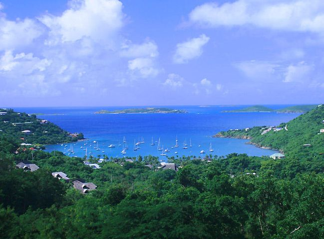 VIEW OVER GREAT CRUZ BAY