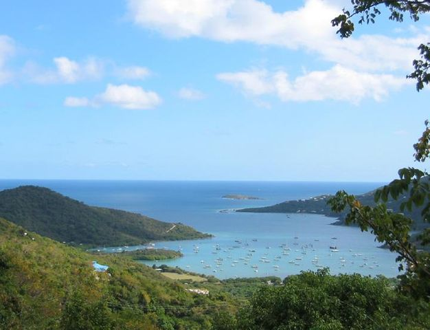 View of Coral Bay from Deck