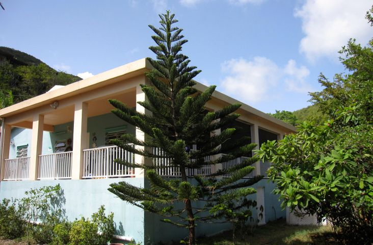 Located on St John's south shore, this flat site offers plenty of parking, a gardener's delight, room for addition of pool and/or guest cottage