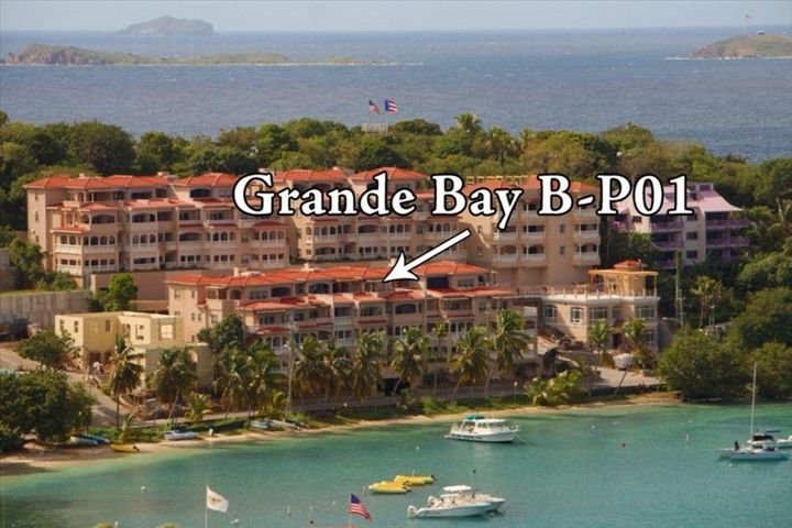Location of Penthouse Unit at Grande Bay