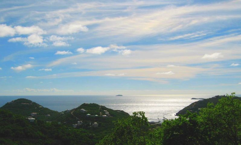 View south: Caribbean Sea, French Cap, St. Croix