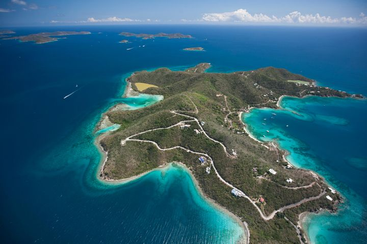 Enjoy views of the British Virgin Islands