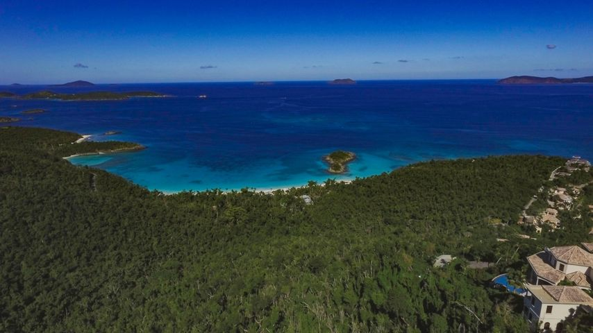 Panoramic Vistas over Trunk Bay and the North Shore