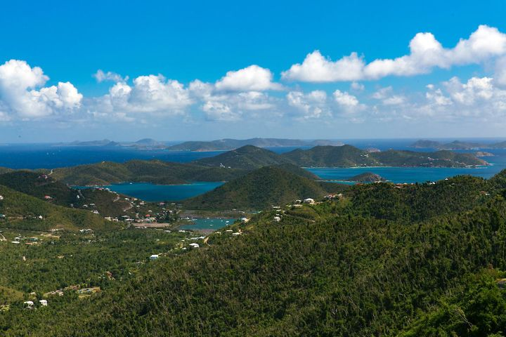 Amazing down island views