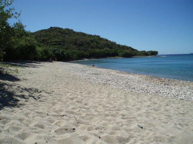 White Sandy Beach at Ditleff Point