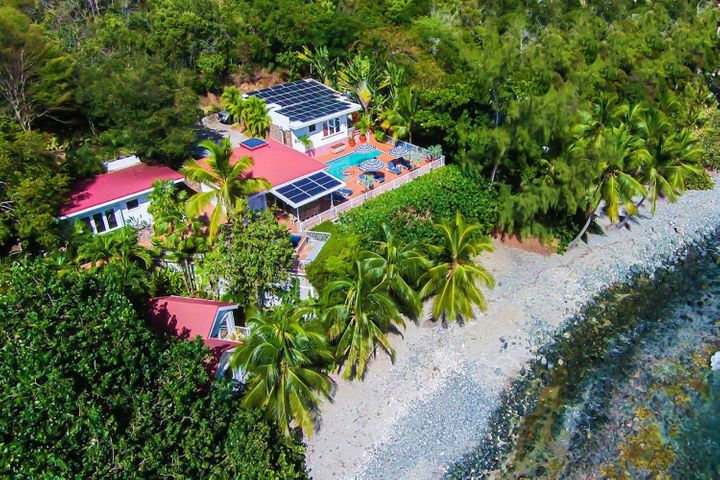Perfect beachfront location!