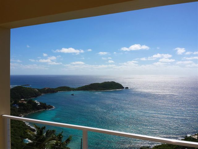 View south Rendezvous Bay to St. Croix